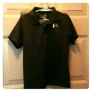 Youth size small Under Armour boys polo shirt